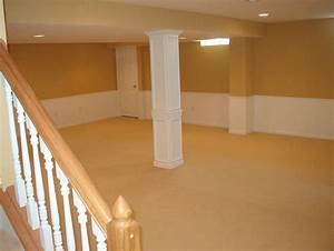 Cheap basement finishing ideas 3 options for you your for Inexpensive basement finishing ideas