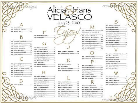 seating chart templates  wedding reception