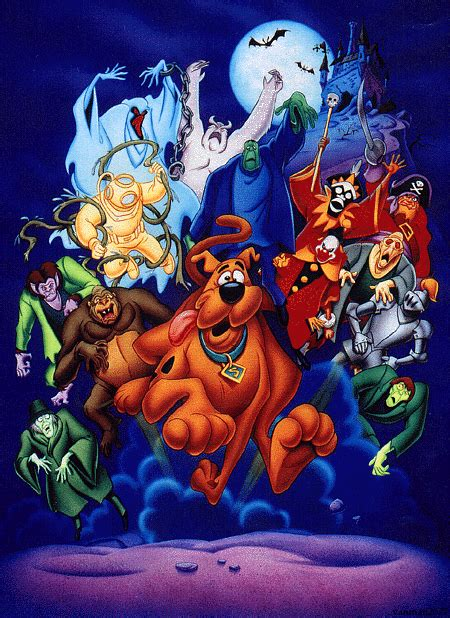 scooby doo ghost monsters villains clown wiki ghosts creeper character unleashed fandom brothers daphne billy site card