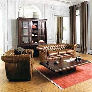Salon En Anglais : le canap chesterfield un meuble anglais mythique ~ Preciouscoupons.com Idées de Décoration