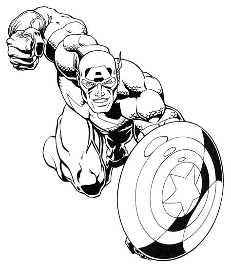 Kleurplaten Marvel by Marvel Comics Heroes Coloring Pages Coloring Pages