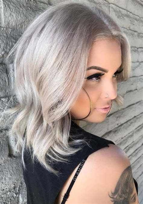 platinum hair color styles 38 popular platinum hair color trends in 2018 3313