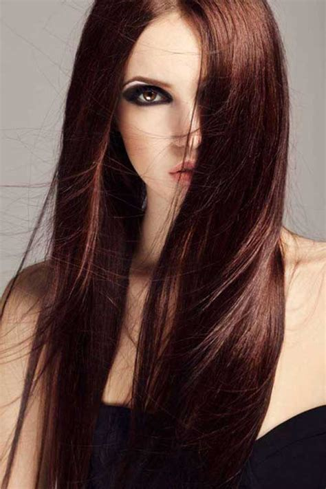 Chocolate Brown Hair by Chocolate Brown Hair Color Ideas Hairstyles 2017 2018