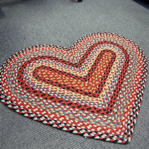Braided Doormat by The Braided Rug Company Braided Door Mat Chilli