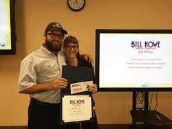 bill howe plumbing september award winners announced at bill howe family of