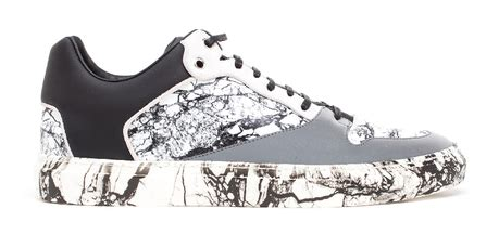 Marblesque Balenciaga Marble Low Top Trainers Paperblog