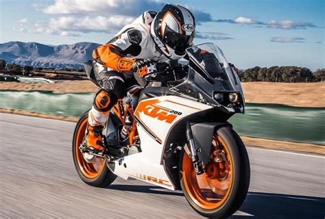 Ktm Rc 200 2019 by Ktm Sports Bike Rc 200 Launched With Dual Channel Abs