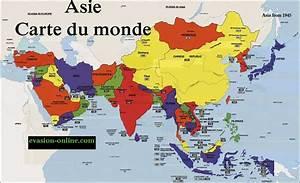 Carte Du Monde Metallique : carte asie vacances arts guides voyages ~ Teatrodelosmanantiales.com Idées de Décoration