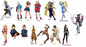 Street Fighter All Characters