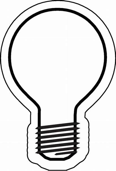 Bulb Template Christmas Lightbulb Pattern Printable Clipart