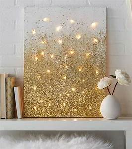 40 Brilliantly Gold DIY Projects | Teen apartment, Gold ...