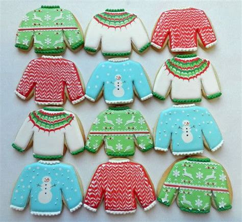 cookies sweater 17 best images about decorating cookies on