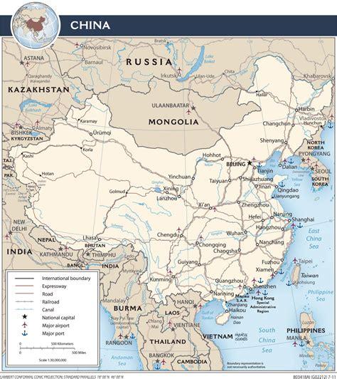 Ģeogrāfiskā karte - Ķīna - 1,414 x 1,589 Pikselis - 539.29 ...