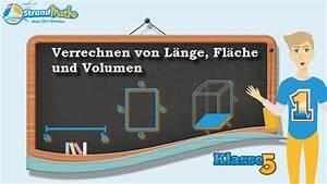 Kennzeichen Länge Berechnen : l nge fl che volumen berechnen klasse 5 bung 1 youtube ~ Themetempest.com Abrechnung