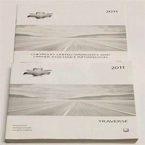 2011 Chevrolet Traverse Suv Owners Manual User Guide Ltz