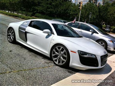 Audi Atlanta by Audi R8 Spotted In Atlanta On 07 04 2012