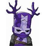 Castle Blacksmith Wikia Crashers Knight Wiki Purple