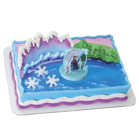 shop bakery decorated cakes frozen anna  elsa