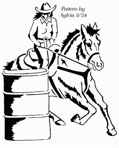 Barrel Racing Horse Clipart Racer Clip Cliparts