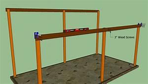 Woodwork Attached Lean To Carport Plans PDF Plans