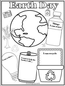 earth day  educating   life teachers pay teachers