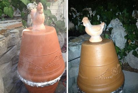 diy clay pot smoker icreatived