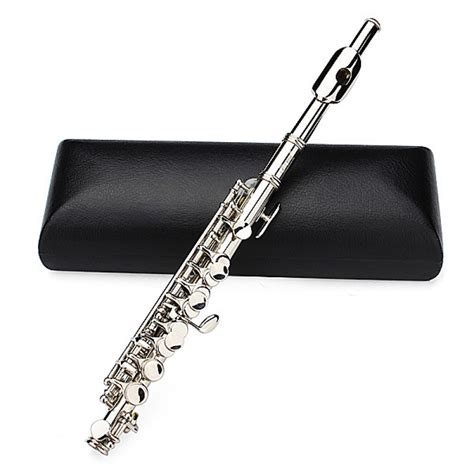 De Lade by Buy Lade Silver Plated C Piccolo Flute With