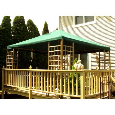 garden winds replacement canopy top  sams club wood