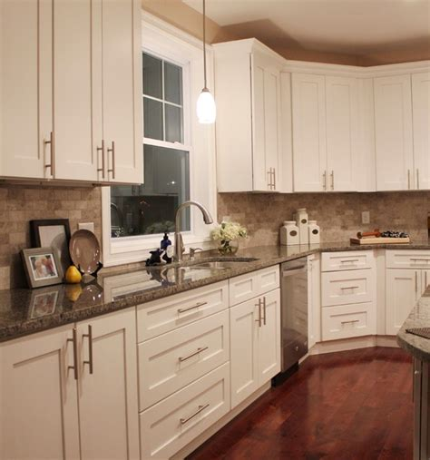 Forevermark Cabinets White Shaker by White Shaker Spec Transitional Kitchen Other