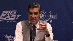 Villanova Men's Basketball vs. Creighton Post Game Press ...