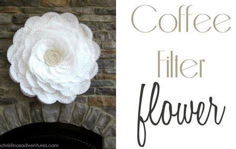 Running out of coffee filters isn't really a big deal, especially here in new york, where there's a grocery store or bodega on every other block (most will have filters on any given day). Coffee Filter Flower