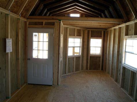 derksen portable deluxe lofted barn cabin lofted barn