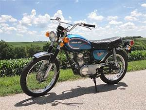 1972 Honda Cl100 Suitcase Cycle