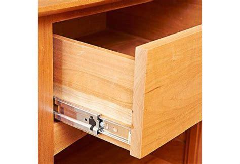 install ball bearing drawer