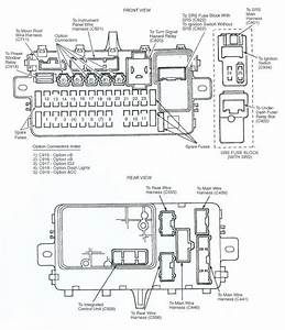 2012 Honda Civic Fuse Box Diagram