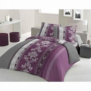 Housse de couette violet achat vente housse de couette for Tapis chambre enfant avec housse de couette lilas