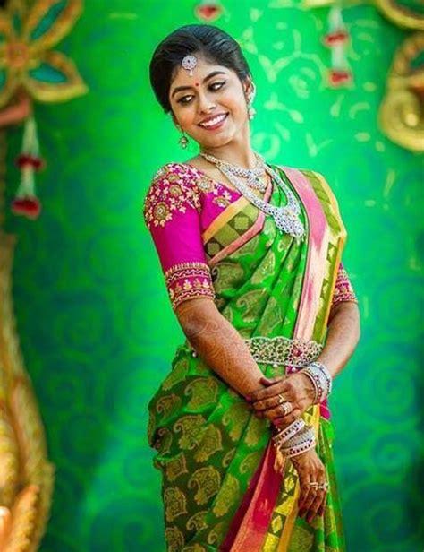 latest pattu saree blouse embroidery designs sleeve