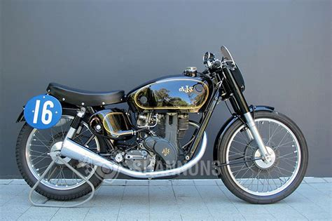 Sold Ajs 7r 350cc Racing Motorcycle Auctions  Lot Ah