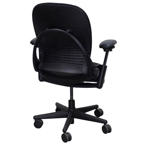 steelcase leap v1 used task chair black national office