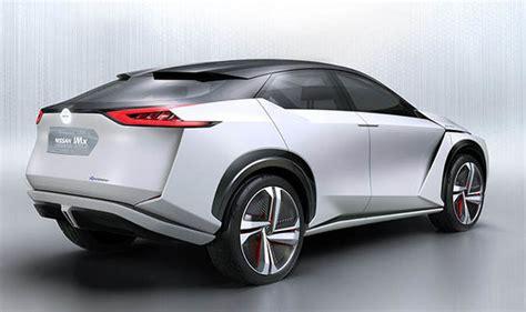 nissan imx electric car concept  rival tesla model