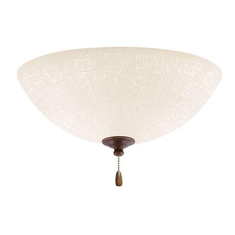 emerson ceiling fans lk83ledgbz white linen gilded bronze