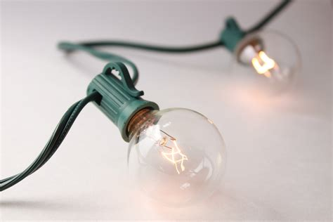 m s place clear globe string lights indoor