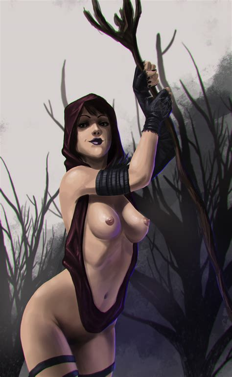 Witch Of The Wilds By Fissionaddict Hentai Foundry