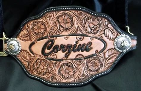 hand  custom leather bronc halters  double  leather
