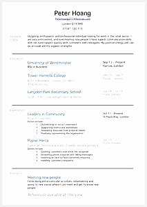 How To Write A Retail Resume With No Experience by 4 Cv Template 16 Year Free Sles Exles