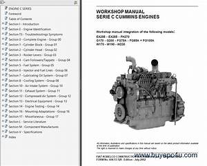 Fiat Kobelko Heavy Line Service Repair Manuals Pdf