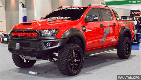 prerunner ranger raptor ford ranger raptor aftermarket kit debuts in bangkok