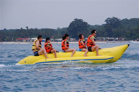 Banana Boat Tanjung Benoa Bali by Watersport Package Segarebalitour