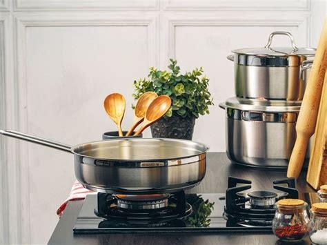 saucepans  gas stoves