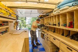 Woodshop On Wheels  Ron Paulk On The Design Of His Mobile